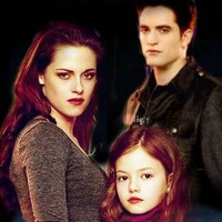 Breaking Dawn part 2 --- Edward, Bella and Renesmee