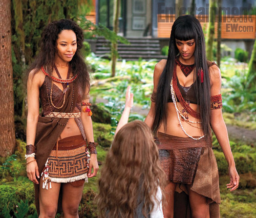 Breaking Dawn part 2: Senna, Renesmee, and Zafrina