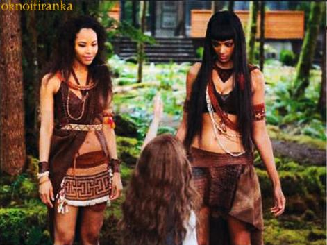 Breaking Dawn part 2: Senna, Renesmee, & Zafrina