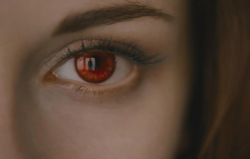 Breaknig Dawn part 2 still: Bella's eye