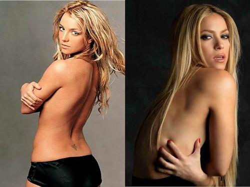 Britney & 夏奇拉