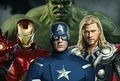 Captain America, Iron-Man, Thor, and The Hulk