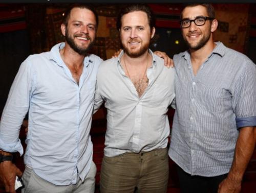 Carmine, AJ and Jonathan
