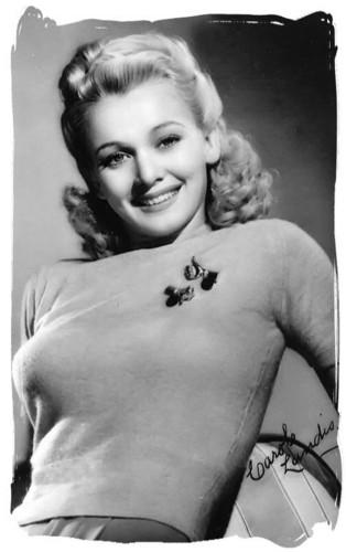 Carole Landis (January 1, 1919 – July 5, 1948)