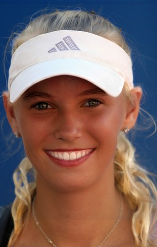 Tennis wallpaper titled Caroline Wozniacki-1