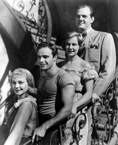 Cast of 'A Streetcar Named Desire'