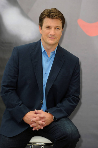 Castle's Nathan Fillion Kicks Back at the 52nd Monte Carlo TV Festival  - castle Photo