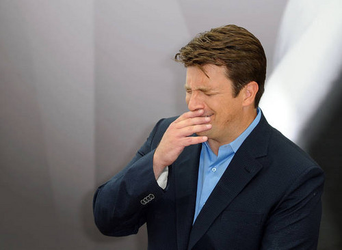 Castle's Nathan Fillion Kicks Back at the 52nd Monte Carlo TV Festival