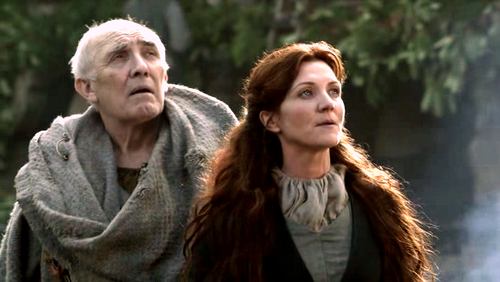 Catelyn and Luwin