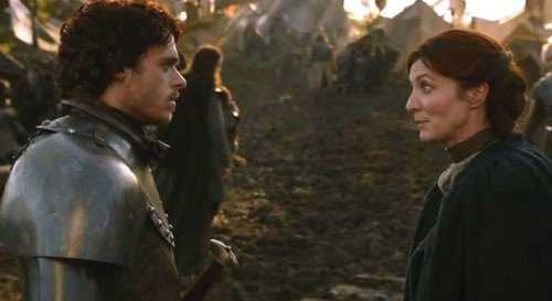 Catelyn and Robb