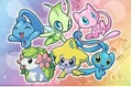 Celebi and Friends - legendary-pokemon photo