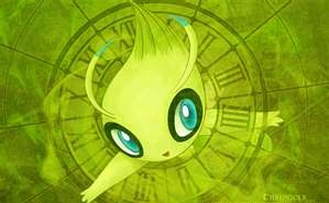 Pokémon leggendari wallpaper titled Celebi