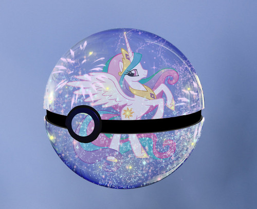Celestia-Pokeball - my-little-pony-friendship-is-magic Photo