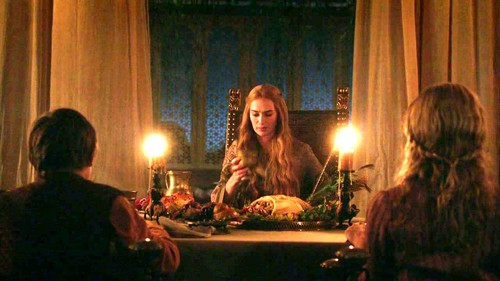 Cersei with Myrcella and Tommen