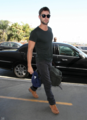 Chace - Arriving at LAX - June 08, 2012 - chace-crawford photo