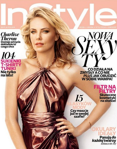 Charlize Theron for InStyle Poland Cover June 2012