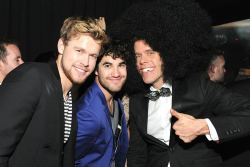 Chord and Darren at the One Night in Toronto party with Perez Hilton, June 17th 2012 - glee Photo