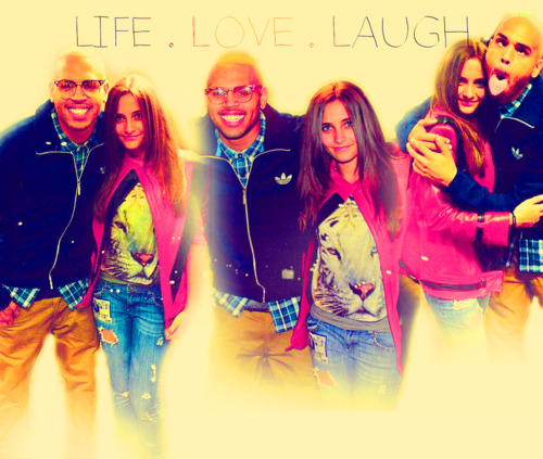 Chris Brown and Paris Jackson #TeamBreezy