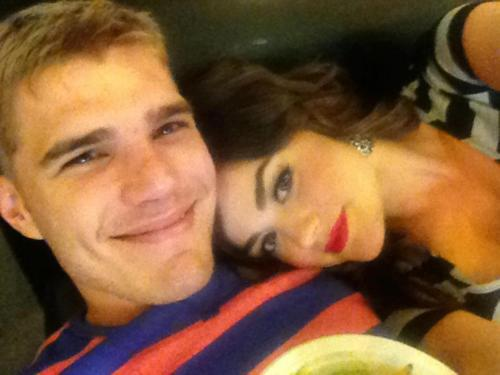 Chris and Lucy - chris-zylka-and-lucy-hale Photo