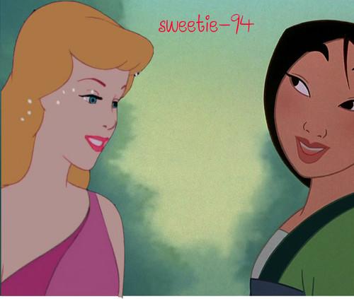 cinderella & Mulan