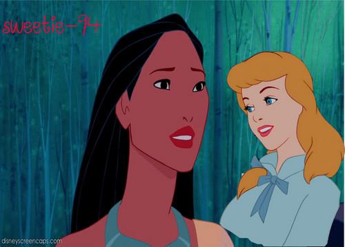 シンデレラ & Pocahontas