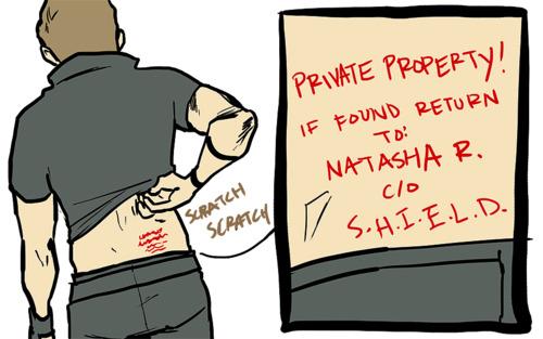 Clint's Natasha's property