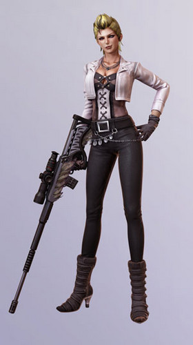 Lollipop Chainsaw wallpaper with a hip boot called Cordelia