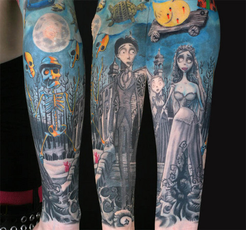 Corpse Bride Tatoo