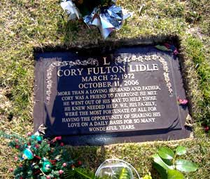 Cory Fulton Lidle (March 22, 1972 – October 11, 2006