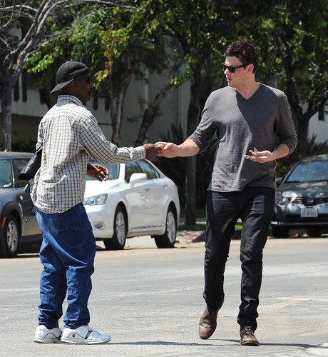 Cory Out in Los Angeles  June 14, 2012 - cory-monteith Photo