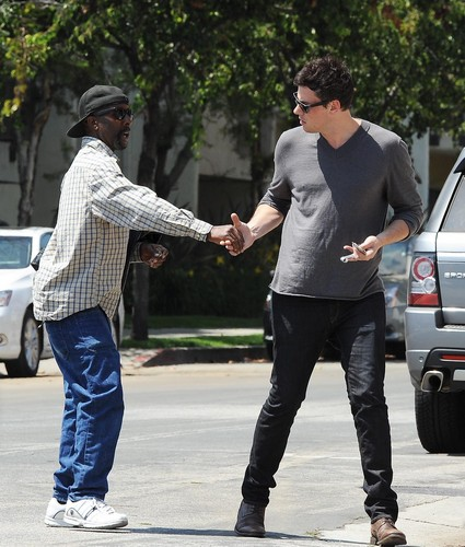 Cory Out in Los Angeles June 14, 2012