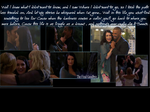 Criminal Minds &#34;Hit&#34; and &#34;Run&#34; collage-- The Final Goodbye <3