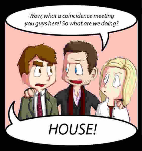 House M.D. wallpaper containing anime titled Cute House Cartoon