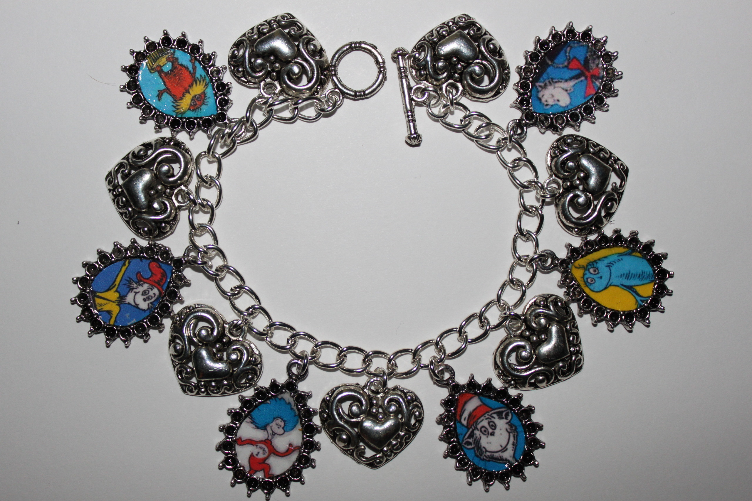 DR. SEUSS charm bracelet