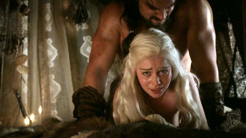 Daenerys Targaryen wallpaper entitled Dany and Drogo