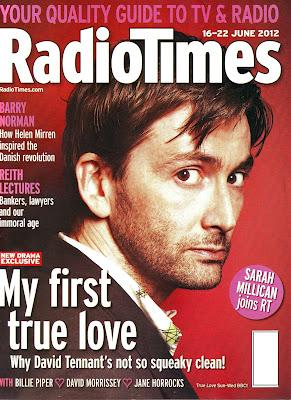 "David in ""Radio Times"" Magazine"
