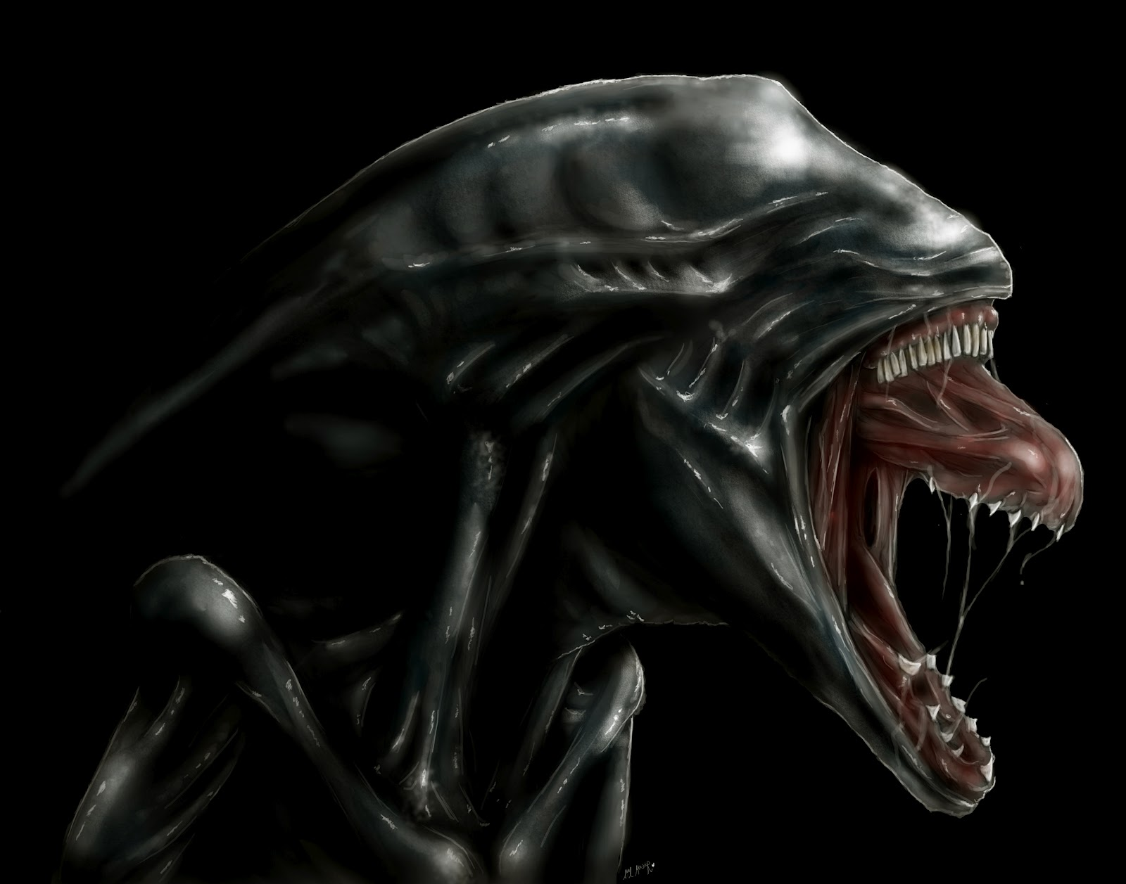 Deacon Alien - Prometheus (2012 film) Fan Art (31167789