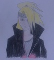 Deidara - anime-drawing photo