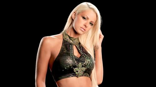 WWE Divas achtergrond titled Divas Of Raw: Past & Present