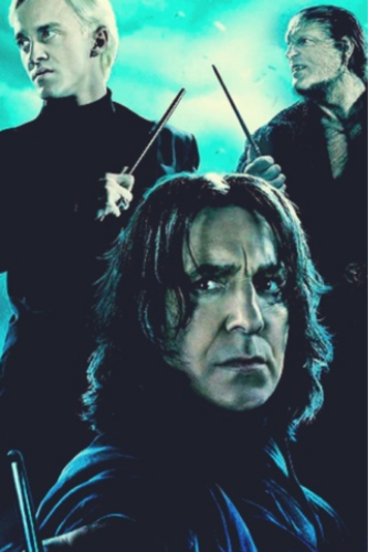 Draco, Snape, and Greyback