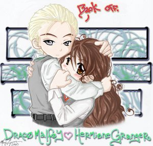 Dramione fanfiction wallpaper with anime called Dramione