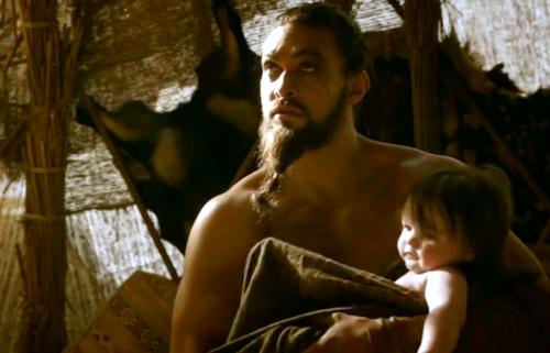 Drogo and Rhaego