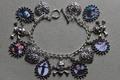 Edward Scissorhands charm bracelet