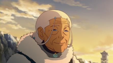 Elderly Katara.