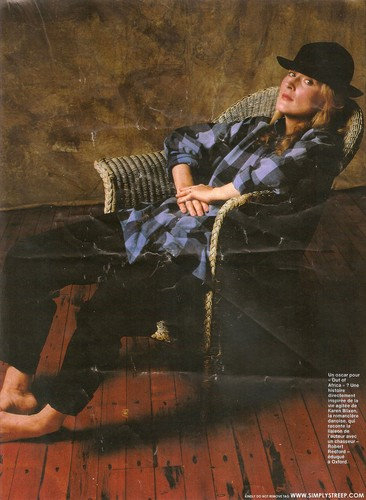 Elle Magazine [January 1986] - meryl-streep Photo