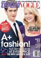 Emma Stone & Andrew ガーフィールド Cover Teen Vogue August 2012