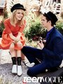 Emma Stone & Andrew Garfield Cover Teen Vogue August 2012 - emma-stone photo