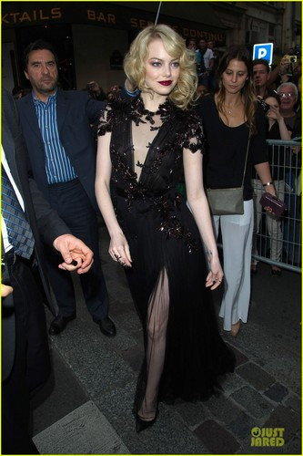 Emma Stone & Andrew Garfield: 'Spider-Man' Paris Premiere! - emma-stone Photo