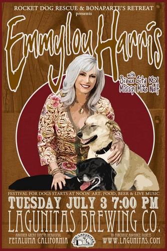 Emmylou کنسرٹ Poster