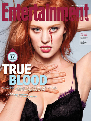 Deborah Ann Woll 바탕화면 containing a portrait and attractiveness titled Entertainment Weekly - June 07, 2012